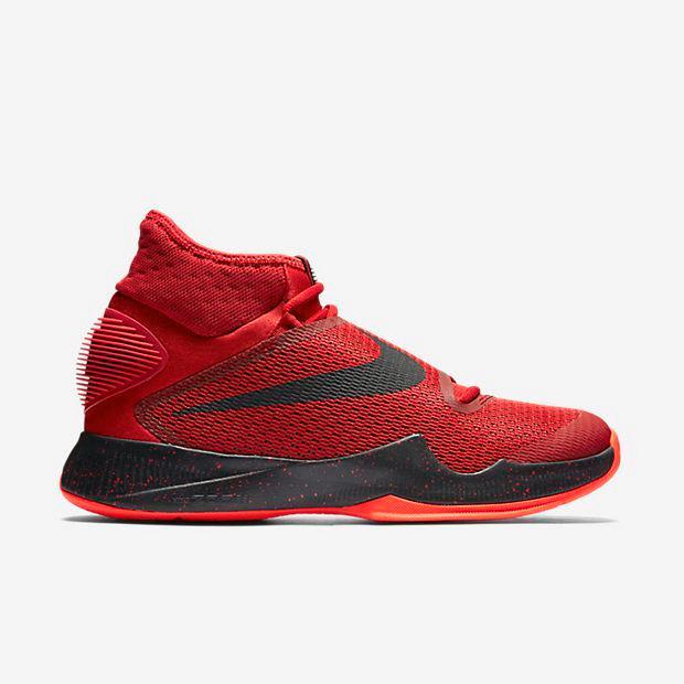 21fb5bd410428 Nike Zoom Hyperrev 2016 Men Basketball Shoes Black Red Shoe  7151S1392 LRG.jpg