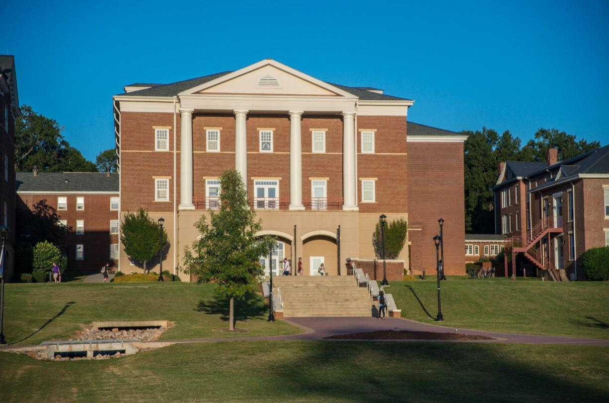 Front of the Owens Hall