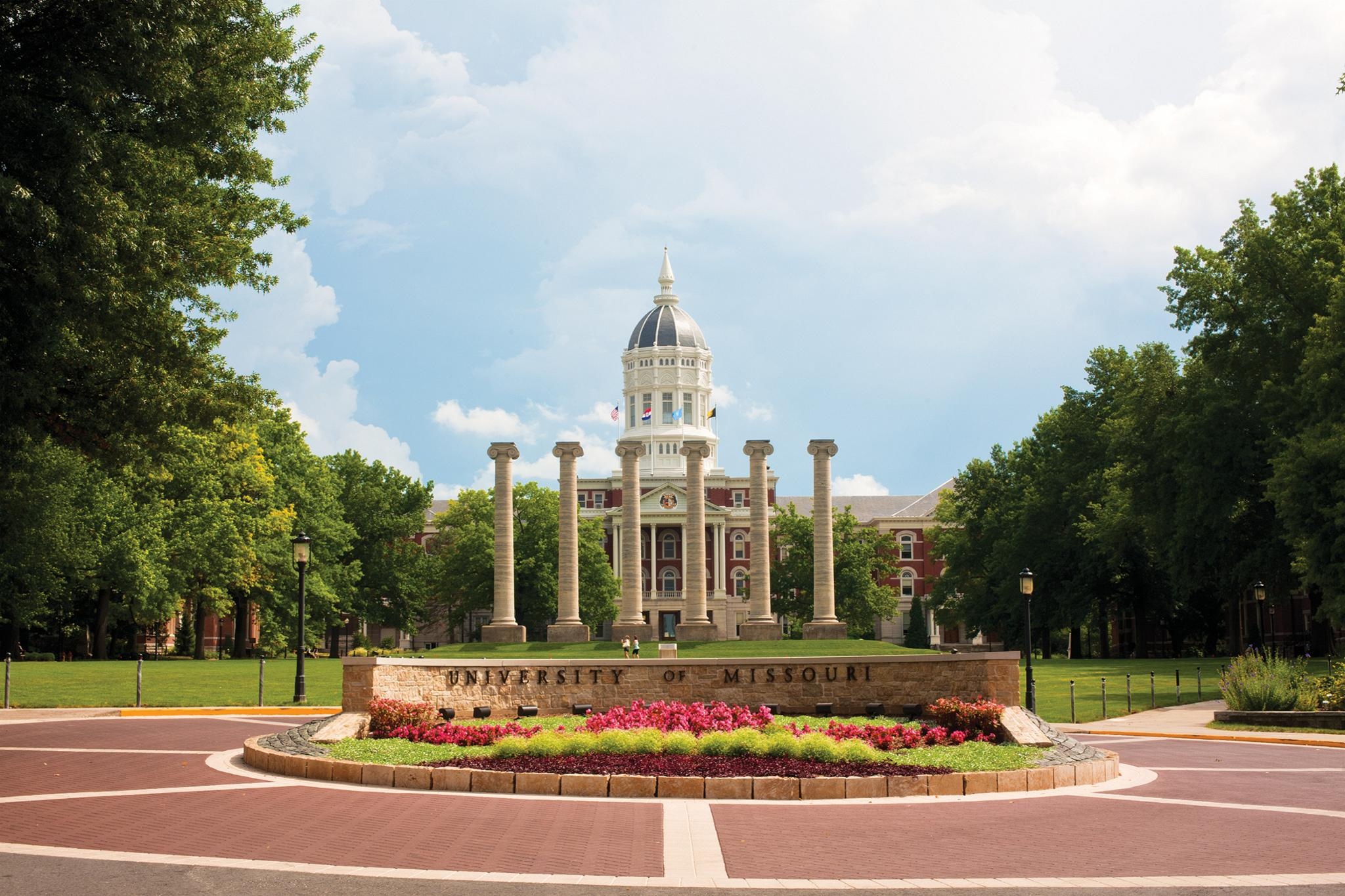 Campus of University of Missouri