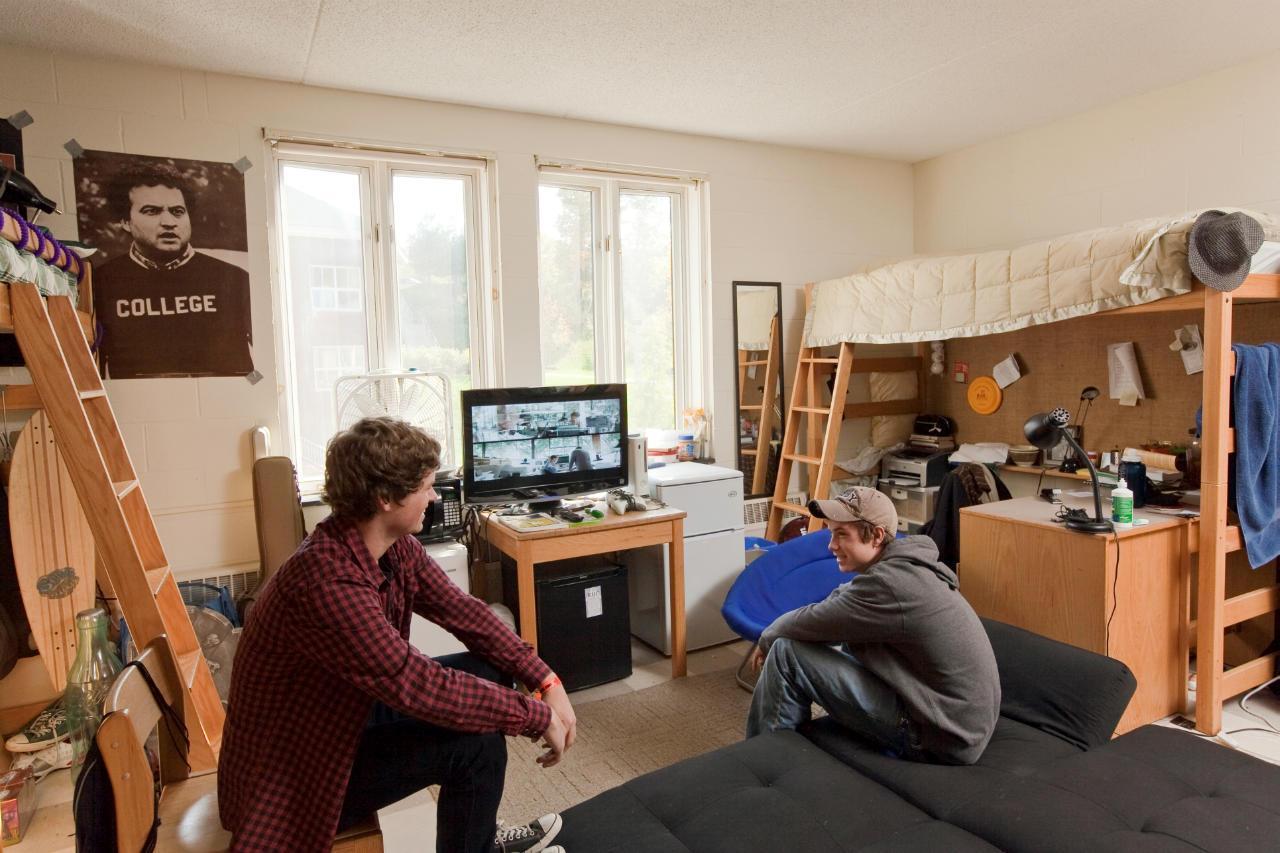 How To Make Your Room Look Bigger Quinnipiac University Dorm Rooms Peenmedia Com