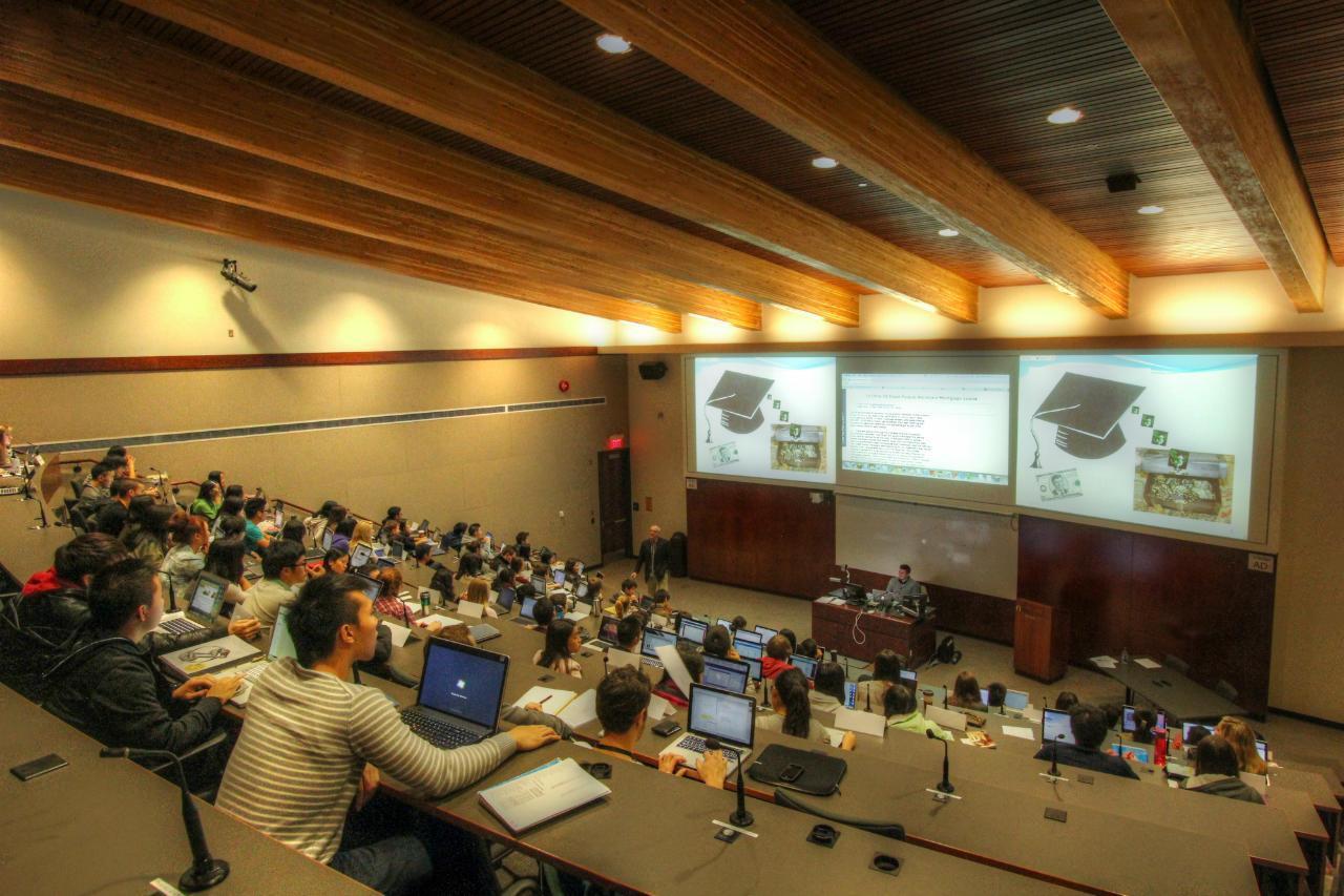 Sauder school of business map - Sauder School Of Business Lecture Hall