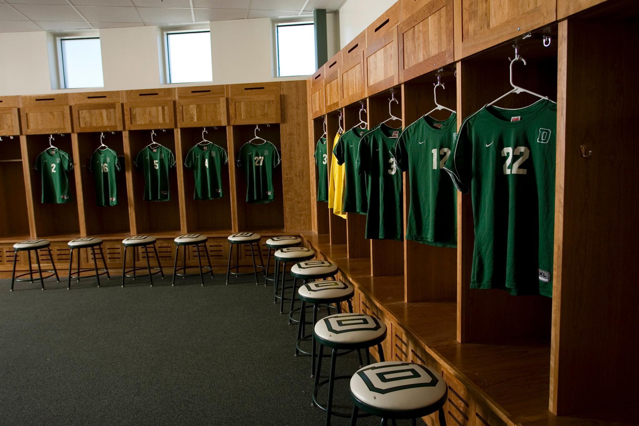 Womens Soccer Locker Room At Burnham Field