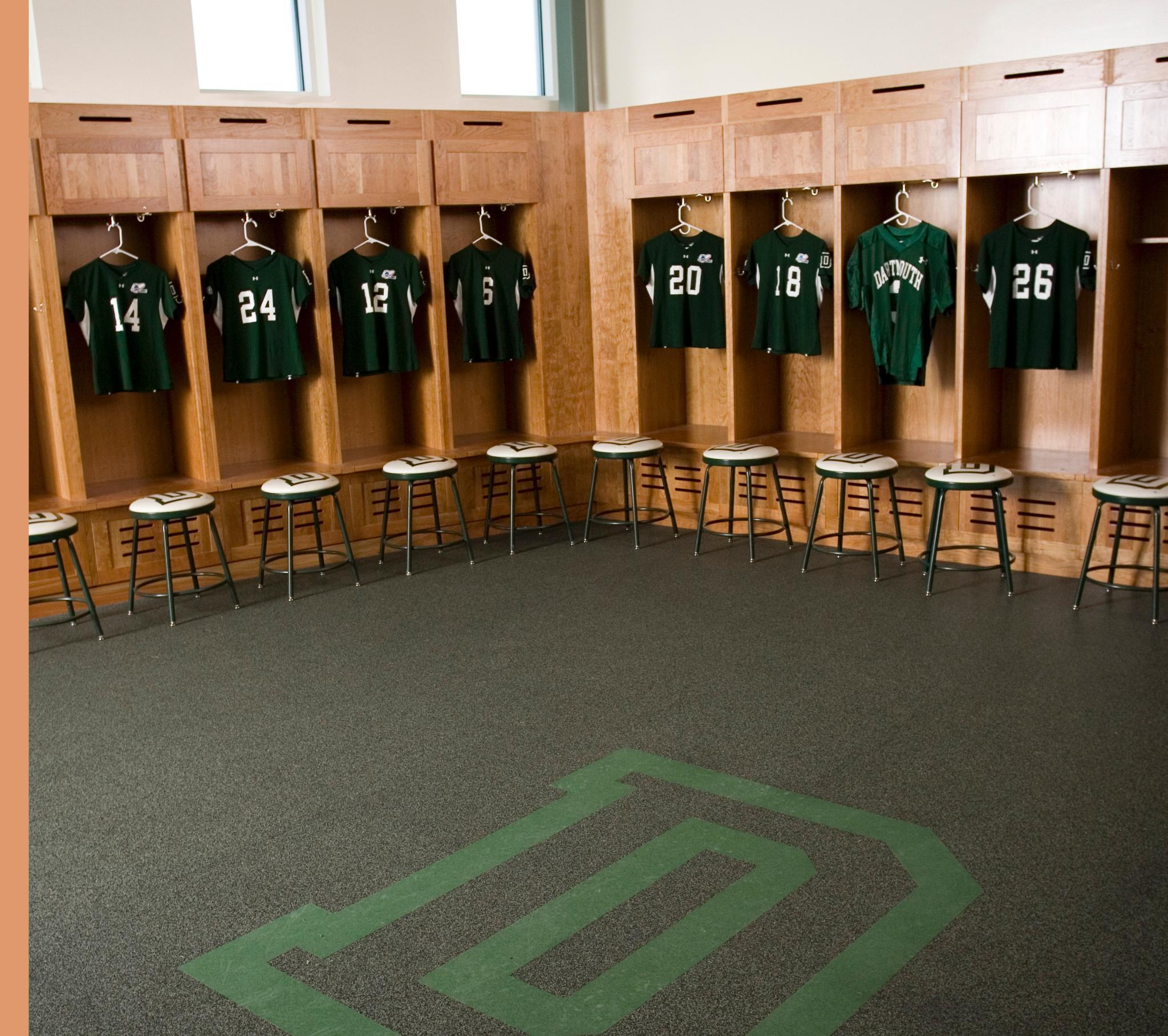 Womens Lacrosse Locker Room Adjacent To Scully Fahey Field