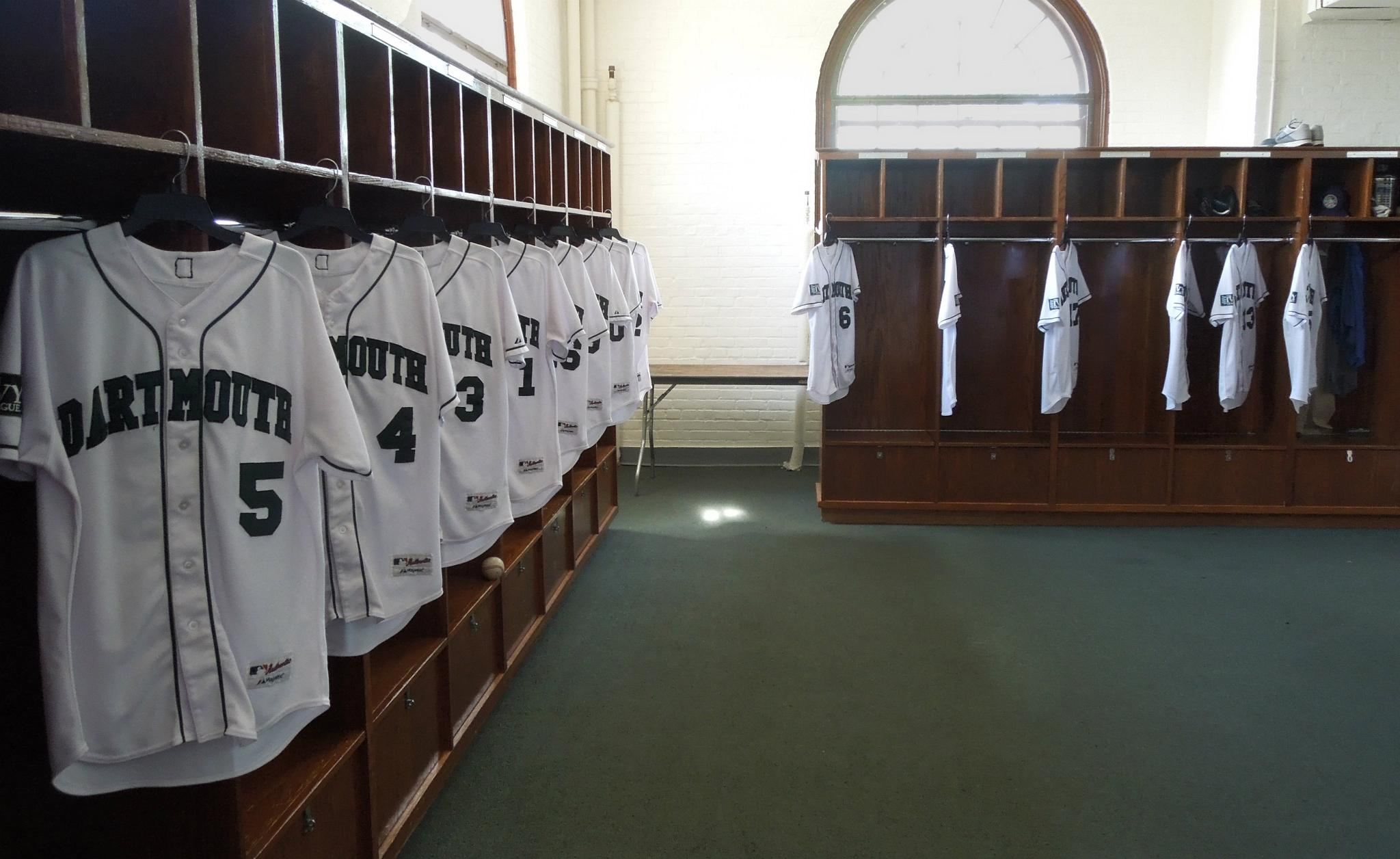 Baseball Locker Room In Davis Varsity House