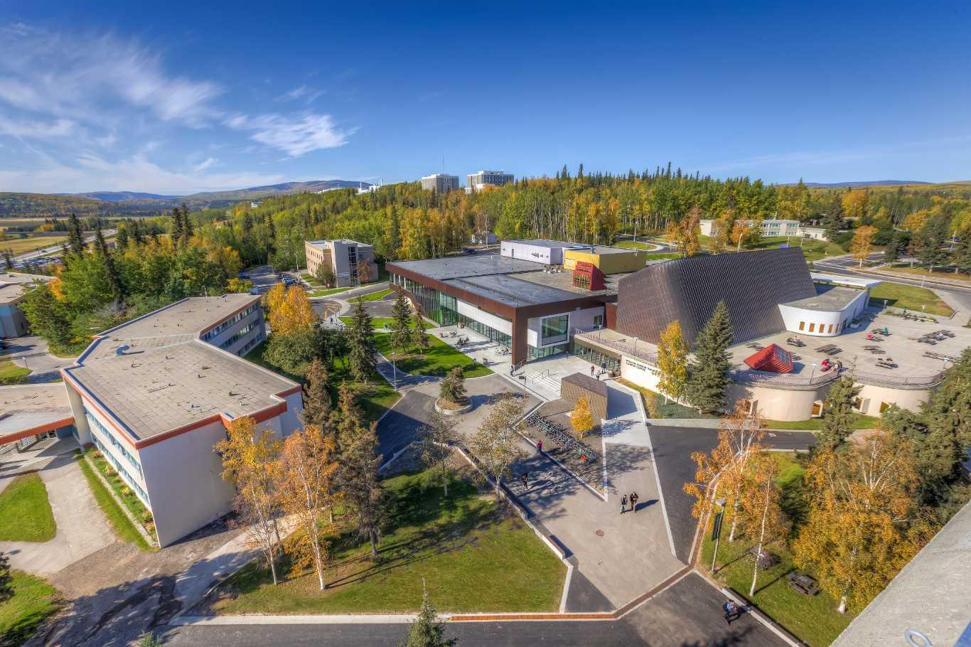 Experience University of Alaska Fairbanks in Virtual Reality.