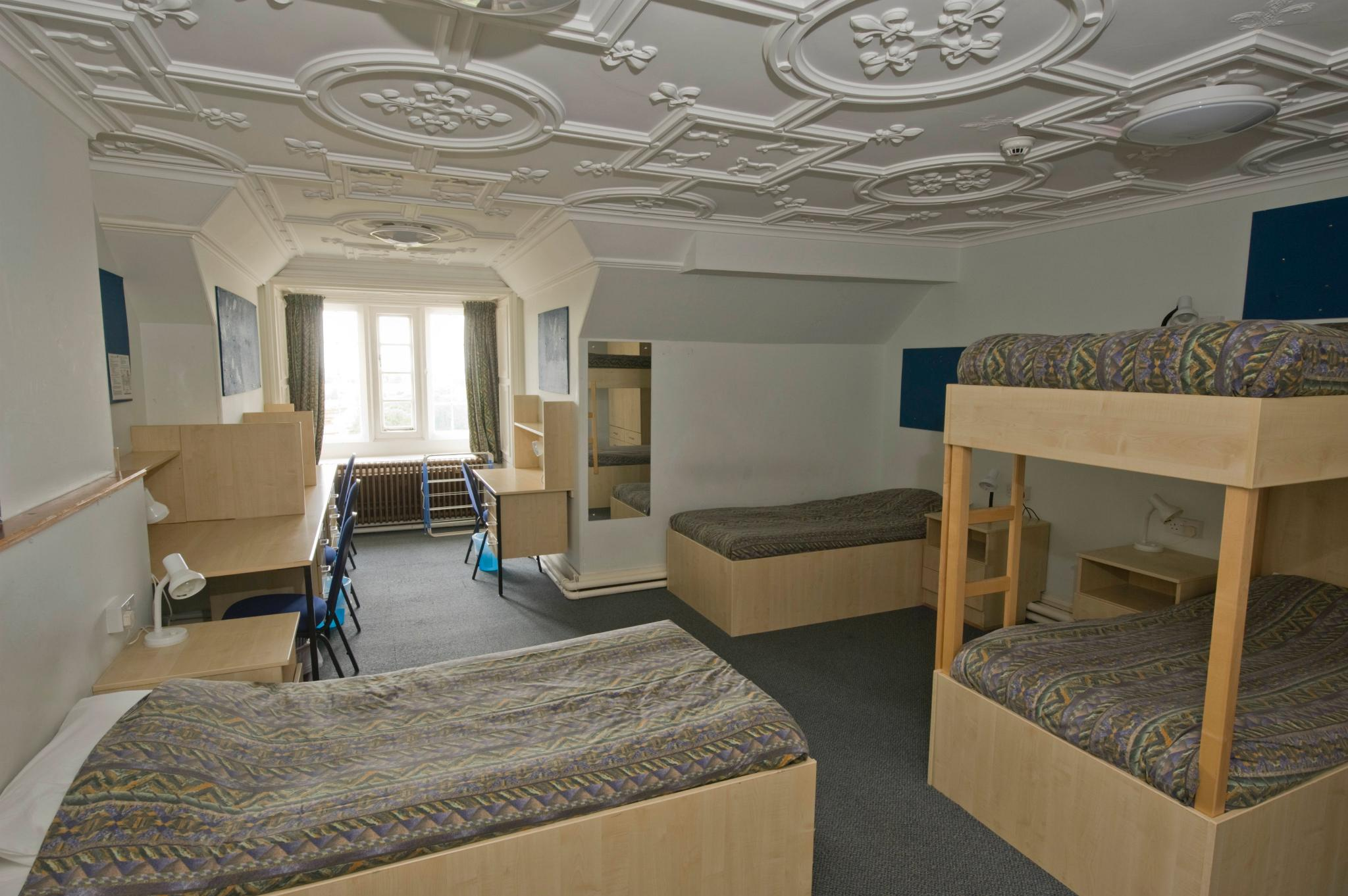 Quad Student Dormitory Room In The Manor