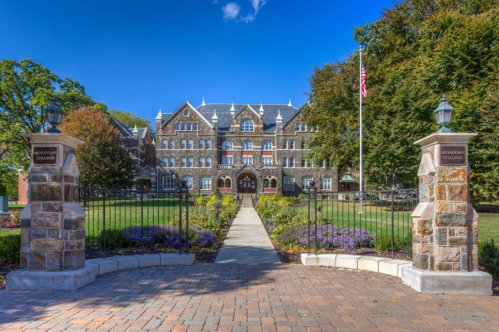 Moravian Campus Map.Experience Moravian College In Virtual Reality