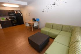 Living Room In Riverview Suites On South Campus Part 51