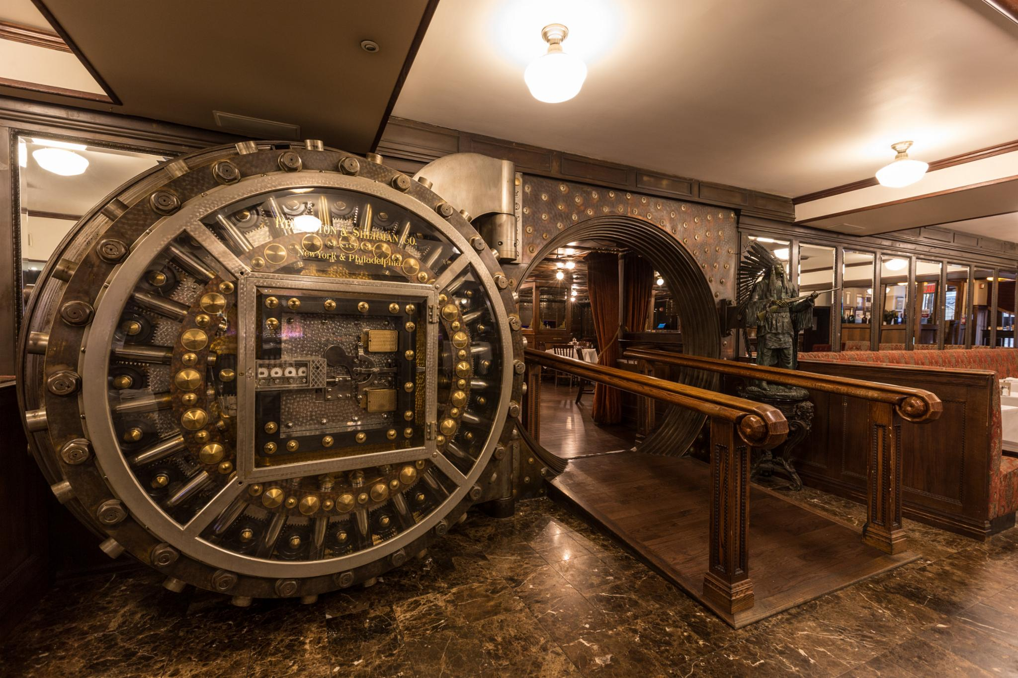 44aaabf6ed Bobby Vans Wall Street. nextmedia. previousmedia. No description available.  description. Bank Vault Dining