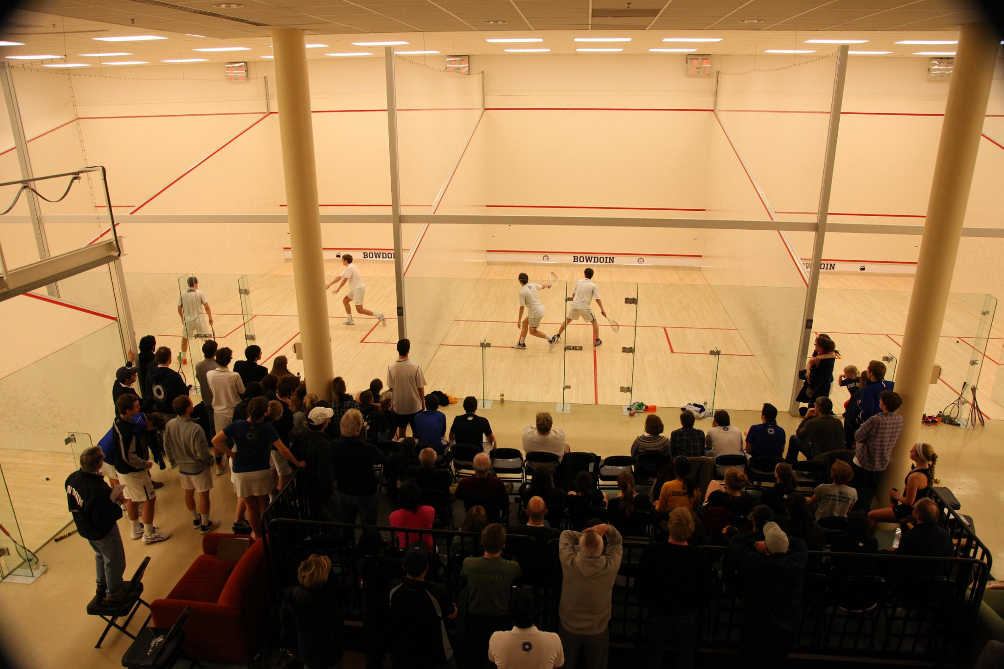 Experience bowdoin college in virtual reality lubin family squash center sciox Image collections